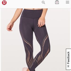 Lululemon Reveal Tight Precision size 8